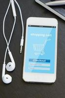 shopping mobile foto