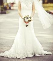 sposa caucasica foto