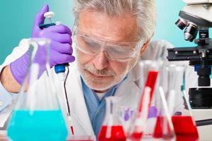 ricerca nelle scienze della vita. foto