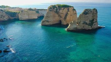 piccione rocce / rouche roccia di mare, Beirut foto
