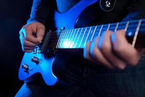 chitarrista rock foto