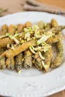 asparagi fritti foto