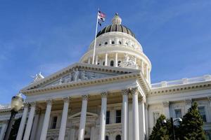 edificio della California Capitol foto