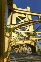 Tower Bridge, Sacramento, California foto