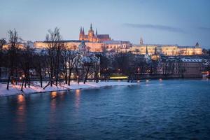 fiume Moldava Praga