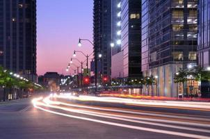 scena di strada di Atlanta foto