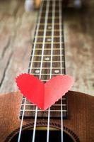 amante della chitarra foto