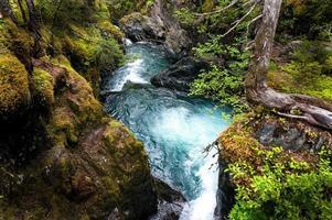 piccolo canyon del fiume foto