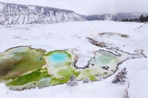 Yellowstone in inverno foto