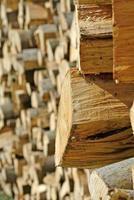 combustibile legno foto