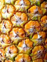 primo piano di ananas foto