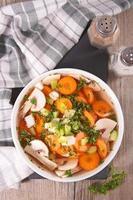 scodella di zuppa foto