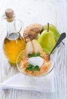 insalata di sedano con pera foto
