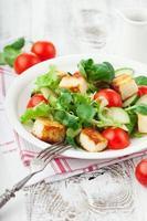insalata fresca di primavera foto