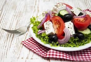 insalata greca fresca foto