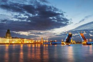st. paesaggio di Pietroburgo foto
