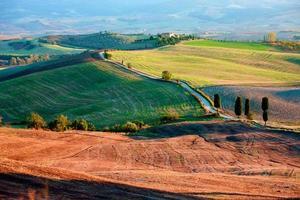campagna toscana, paesaggio italiano