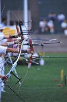 sport di tiro con l'arco foto