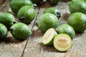 fette di guava di ananas fresco foto