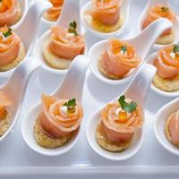 finger food in cocktail party foto