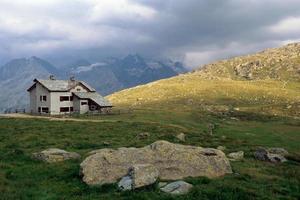 casa in montagna foto