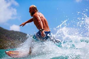 onda surf uomo foto