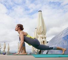 insegnante di yoga foto