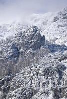 Alpi in inverno foto