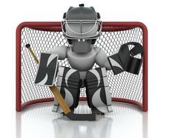 portiere di hockey su ghiaccio