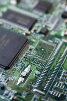 scheda a circuito stampato foto