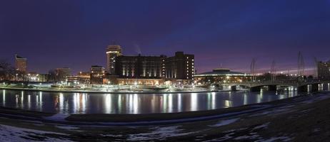 skyline di Wichita foto