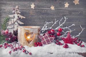 candele invernali foto
