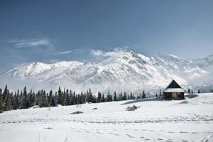 Monti Tatra in inverno foto