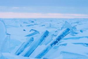 inverno del lago huron foto