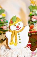 decorazione natalizia di pan di zenzero foto