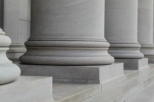 pilastri colonne di diritto e ordine foto