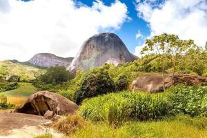 pietra blu, pedra azul domingos martins espirito santo brasile foto