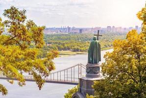 san vladimir, monumento a kiev foto