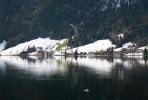 scena del lago, svizzera foto