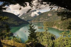 Lago Ross, Washington foto