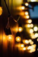 illuminazione esterna foto
