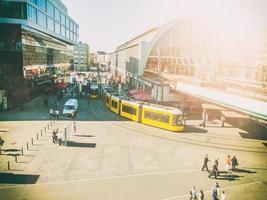 alexanderplatz berlino senza loghi foto