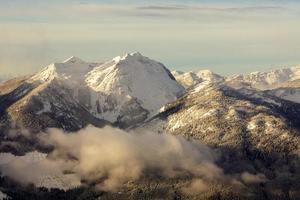 le montagne monashee British Columbia Canada foto