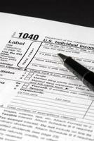 modulo di imposta sul reddito foto