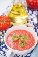 zuppa di pomodori foto