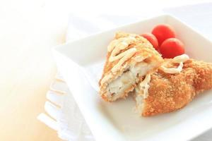 filetto di pesce con maionese foto