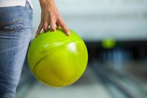 palla da bowling. foto