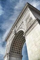 arco di Washington, parco di washington square foto