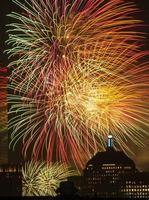 4 luglio fuochi d'artificio foto