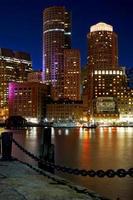porto interno di Boston foto